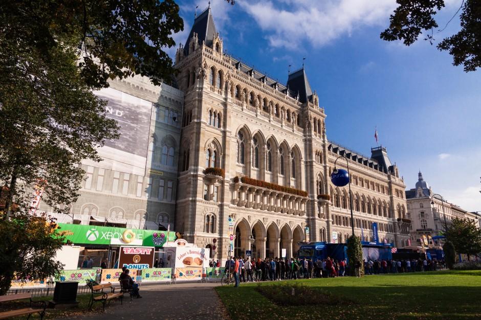 Das Wiener Rathaus ist eine noble Adresse für eine Spielemesse