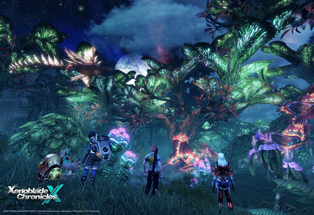 So schön kann Natur sein - Nacht im Gebiet Noctilum.