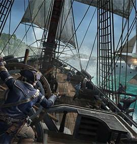Schon in Assassin's Creed 3 gabs Spaß auf hoher See, mit Teil 4 geht es wohl in die Karibik zu den Piraten.