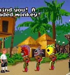 Wird wohl ein dreköpfiger Affe auftauchen?