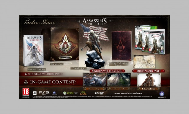 Assasin's Creed 3 - Freedom Edition