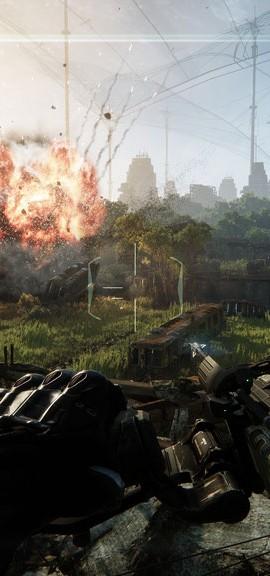 Crysis 3 (Bild von offizieller Webseite, sieht auf der Xbox 360 immer noch super aber doch reduzierter aus)