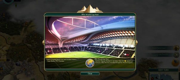 Civ 5-Mod: FIFA World Cup Host Resolution