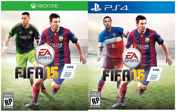 FIFA 15, US-Cover