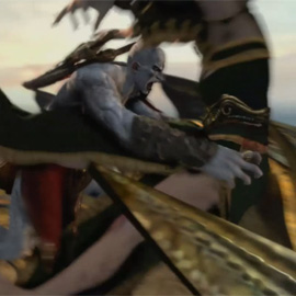 """Bros before Hos""-Szene aus God of War: Ascension"