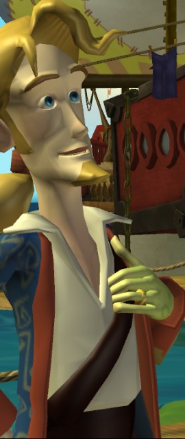 Gubrush Threepwood in Tales of Monkey Island