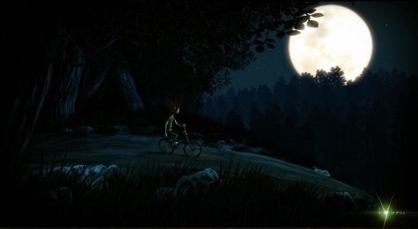 Nachts im Wald. Das schreit nach Ärger.