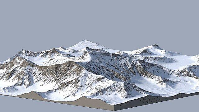 Der Mount-Everest in Minecraft
