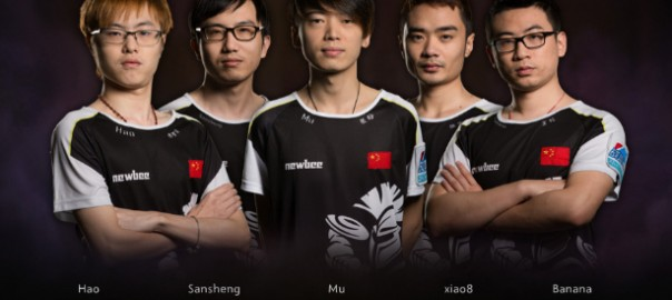 Newbee - Siegerteam des Dota 2 International 2014