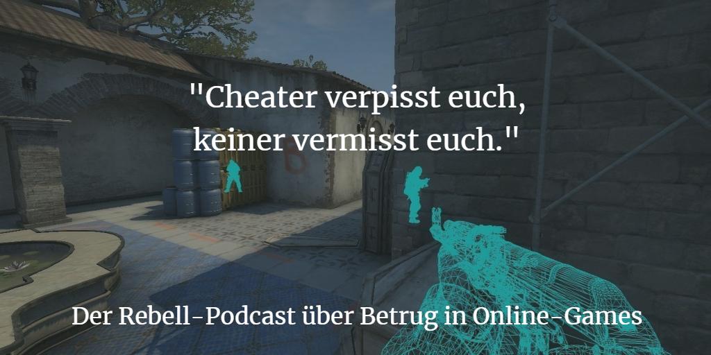Cheats: Der Podcast über die Geißel der Online-Games