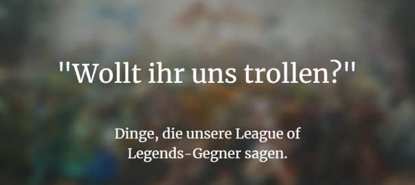 League of Legends Podcast Cover