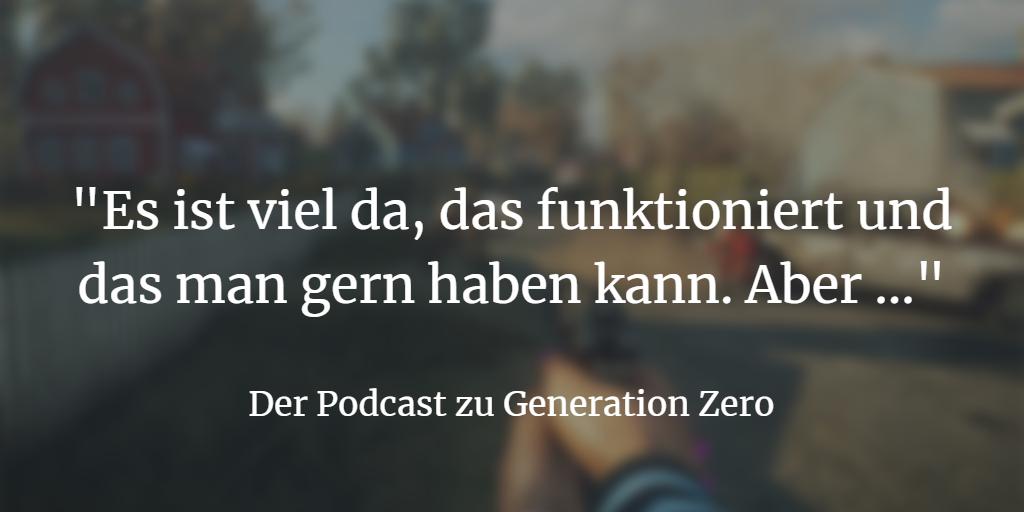 Generation Zero: Coop-Shooter mit schönem Setting und guten Ideen (aber…?)