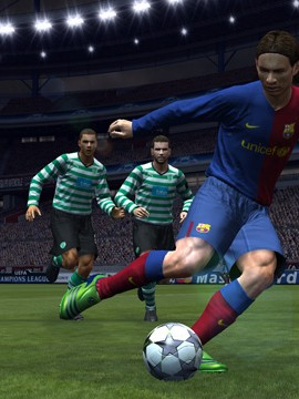 Screen aus PES 2009