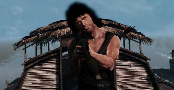 Wie schlimm steht es mit Rambo, wollt ihr wissen? Sehr schlimm, sagen wir.