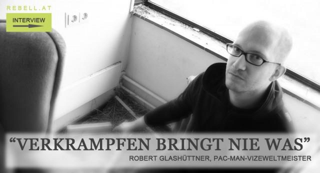 Robert Glashüttner, Pac Man-Vizeweltmeister