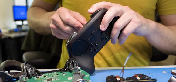 Valve bastelt die Prototypen immer noch selbst im 3D-Drucker