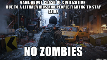 The Division - No Zombies