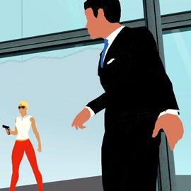 The Button Affair - Silhouetten mit Fun-Faktor