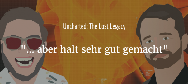Uncharted: Lost Legacy Coverbild