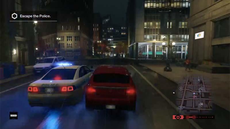 Die Polizei ist kein so präsenter Gegner wie in GTA, und wenn doch mal zugegen auch eher einfach abzuschütteln