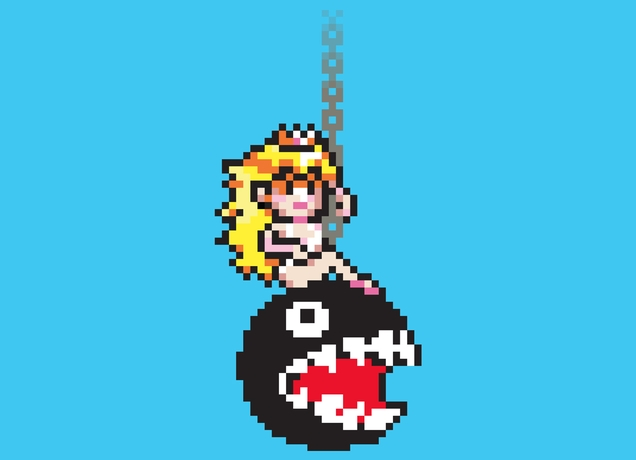 Peach auf Wrecking Ball